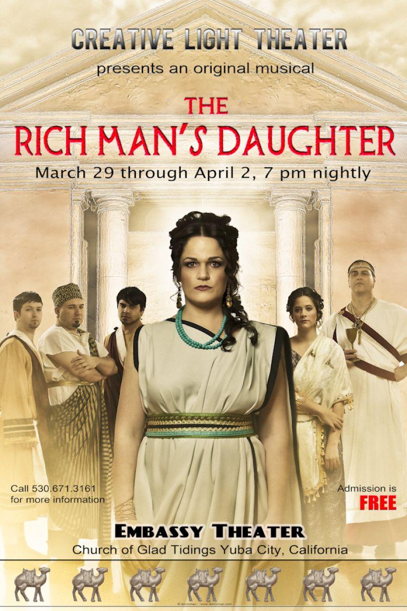 Donnimac The Church Of Glad Tidings Creative Light Theater Rich Man Drama
